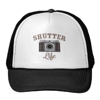 Shutter Life Retro Camera Hats