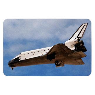 Shuttle Atlantis STS-30 Landing Rectangular Photo Magnet