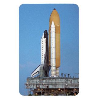 Shuttle Atlantis STS-86 Rollout Rectangular Magnet