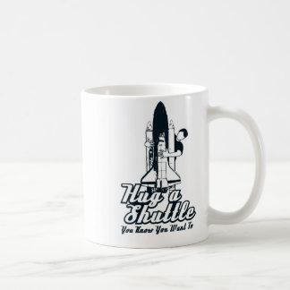 Shuttle Hugger Dual Logos Mug