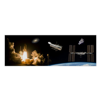 Shuttle Program Accomplishments Poster