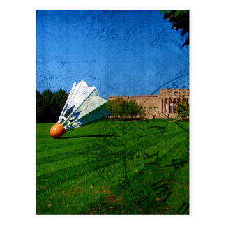 Shuttlecock on the Lawn Postcard