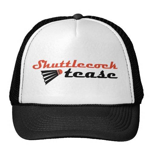 Shuttlecock Tease Badminton Humor Trucker Hat