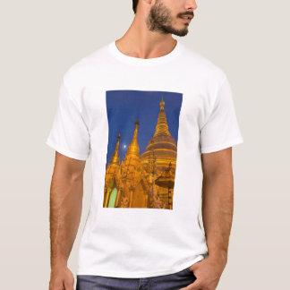 Shwedagon Pagoda at night, Myanmar T-Shirt