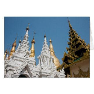 Shwedagon Pagoda Exterior Card