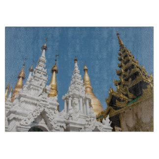 Shwedagon Pagoda Exterior Cutting Board