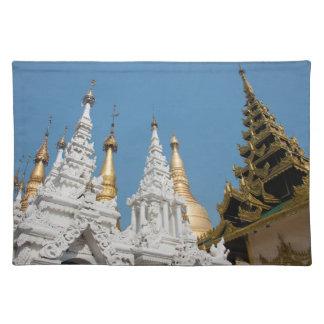 Shwedagon Pagoda Exterior Placemat