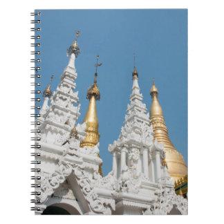 Shwedagon Pagoda Exterior Spiral Notebook