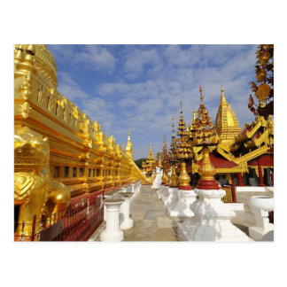 Shwezigon Pagoda complex in Bagan (Pagan), Postcard