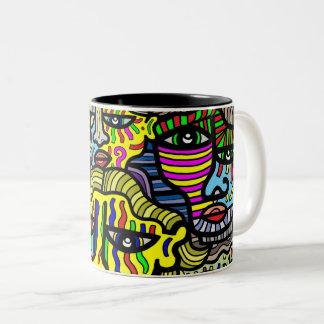 """""""Shy"""" 11 oz Two-Tone Mug"""