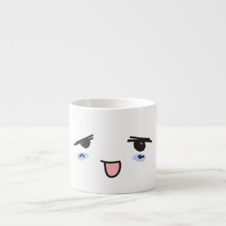 Shy and timid espresso cup