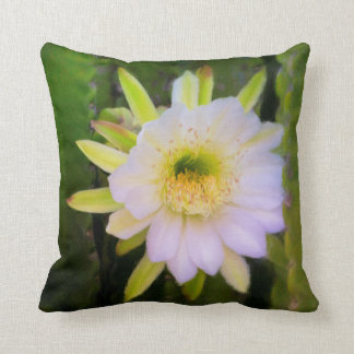 Shy Beauty Square Throw Pillow