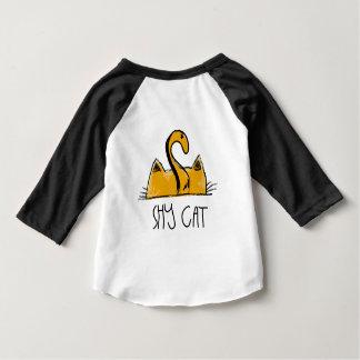 shy cat baby T-Shirt