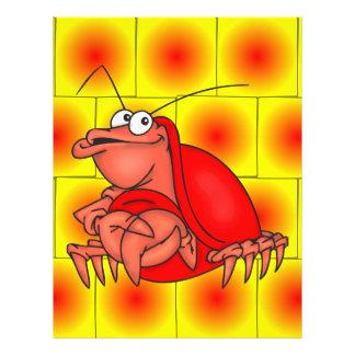 Shy Crab 21.5 Cm X 28 Cm Flyer