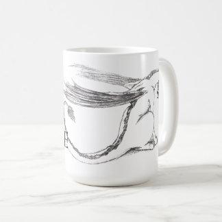 Shy Dragon Mug