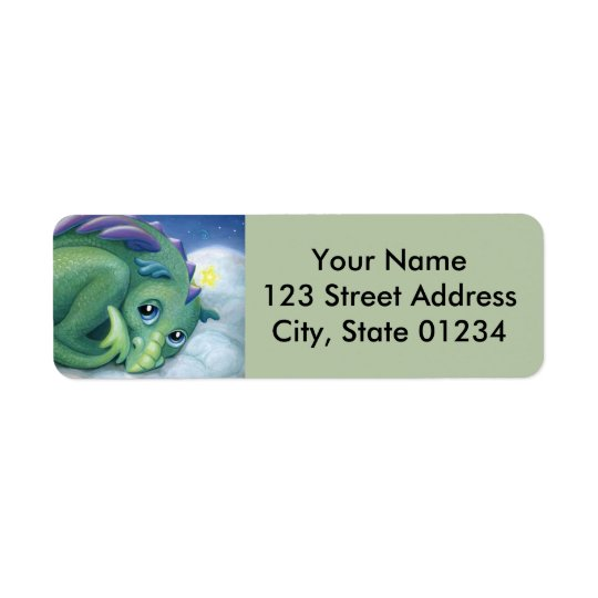 Shy Dragon return address labels
