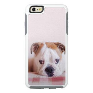Shy English Bulldog Puppy OtterBox iPhone 6/6s Plus Case