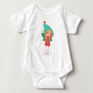 Shy Fairy Baby Bodysuit