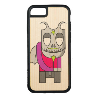 Shy Little Devil Carved iPhone 8/7 Case