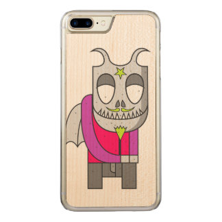 Shy Little Devil Carved iPhone 8 Plus/7 Plus Case