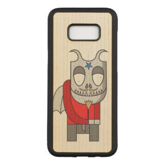 Shy Little Devil Carved Samsung Galaxy S8+ Case