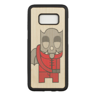 Shy Little Devil Carved Samsung Galaxy S8 Case