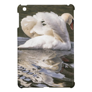 Shy Swan Cover For The iPad Mini
