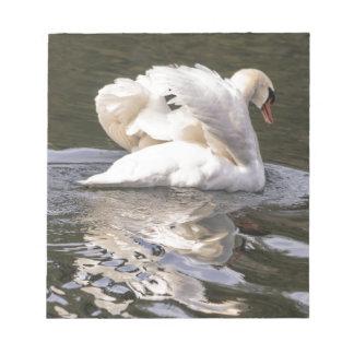 Shy Swan Notepad