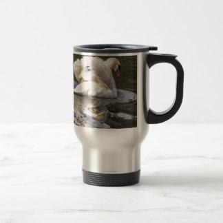 Shy Swan Travel Mug