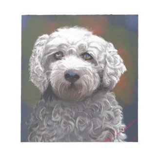 Shyanne Bichon Frise/ King Charles Cavalier Notepads