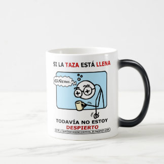 Si la taza está llena... magic mug