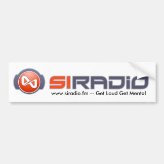SI Radio Logo Bumpersticker Bumper Sticker