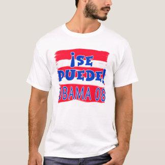 Si Se Puede! Obama 08 T-Shirt