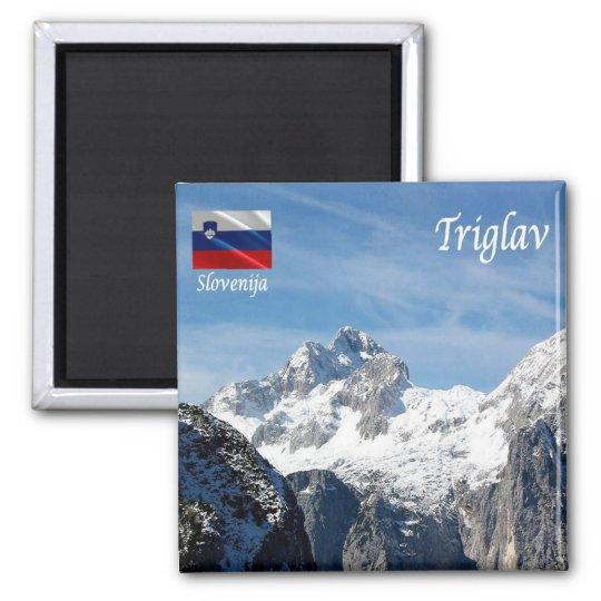 SI - Slovenia - Mount Triglav Magnet