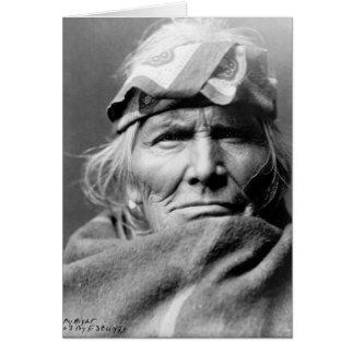 Si Wa Wata Wa (Zuni elder) Card