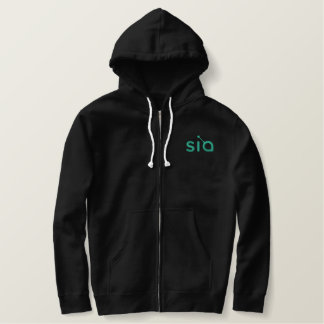 Sia Embroidered Hoodie