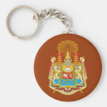 Siam Coat Of Arms Key Chain