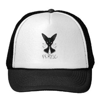 Siamese Black Cat Punk Cap