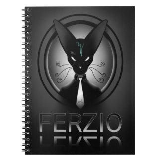 Siamese Black Cat Punk Notebooks