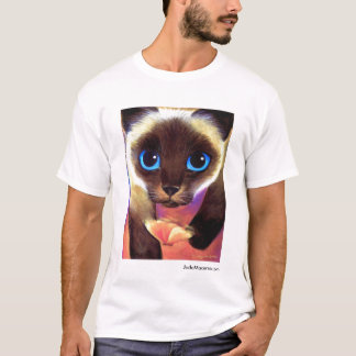 Siamese Cat 104 FOLLOW ME JudeMaceren.com T-Shirt