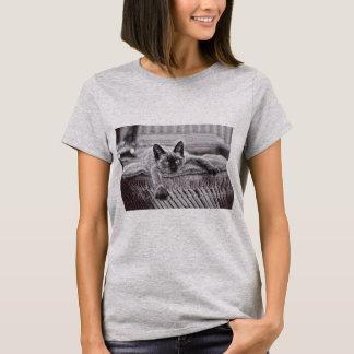 Siamese Cat_1 Women T-Shirt