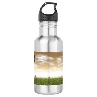 Siamese cat 532 ml water bottle