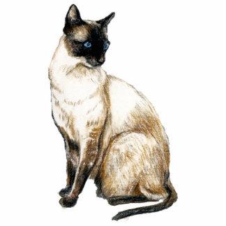 """Siamese Cat"" Art Photo Sculpture"