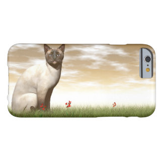 Siamese cat barely there iPhone 6 case