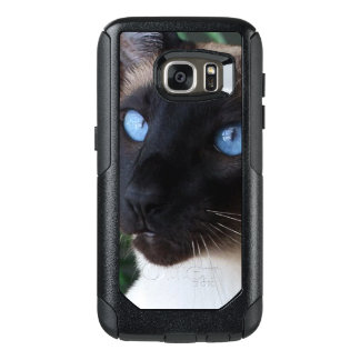 Siamese Cat Blue Eyes OtterBox Samsung Galaxy S7 Case