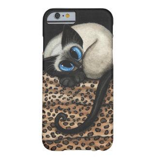 Siamese Cat by Bihrle iPhone 6 Case