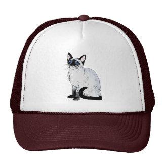 Siamese Cat Cap