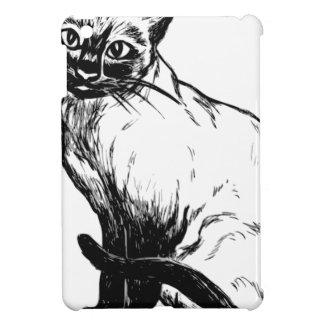 Siamese Cat Cover For The iPad Mini
