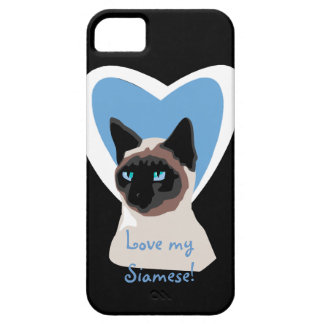 Siamese Cat Love  iPhone 5 Case