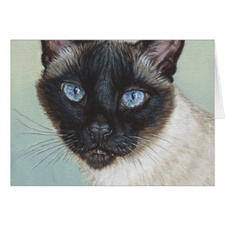 Siamese Cat Murphy Card
